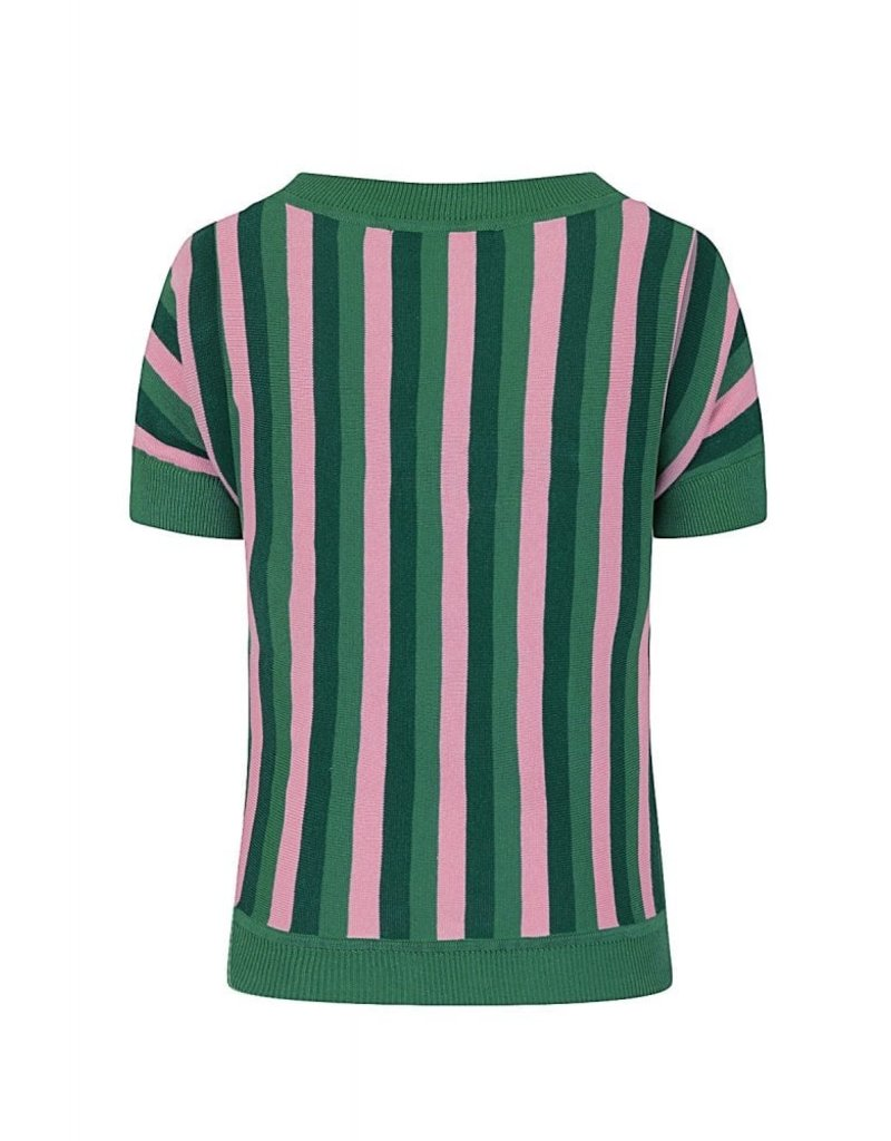Collectif Joy Striped Knitted Top