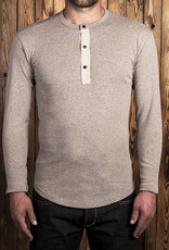 Pike Brothers Superior Garment 1927 Henley shirt Long sleeve fog brown