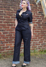 Rumble59 Ladies Denim Overall