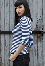 Rumble59 T-shirt Let's be Audrey blue