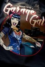 Rumble59 T-shirt Garage gal Leopard
