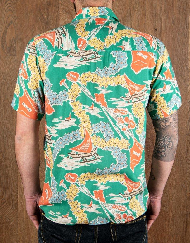 Pike Brothers Superior Garment 1937 Roamer shirt  Hapuna green