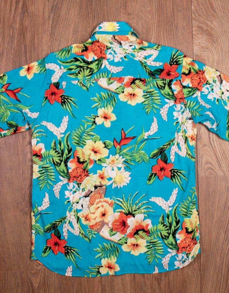 Pike Brothers Superior Garment 1937 Roamer Shirt Hapuna blue