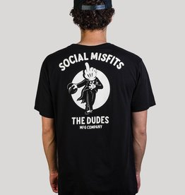 The Dudes Misfits t-shirt Black