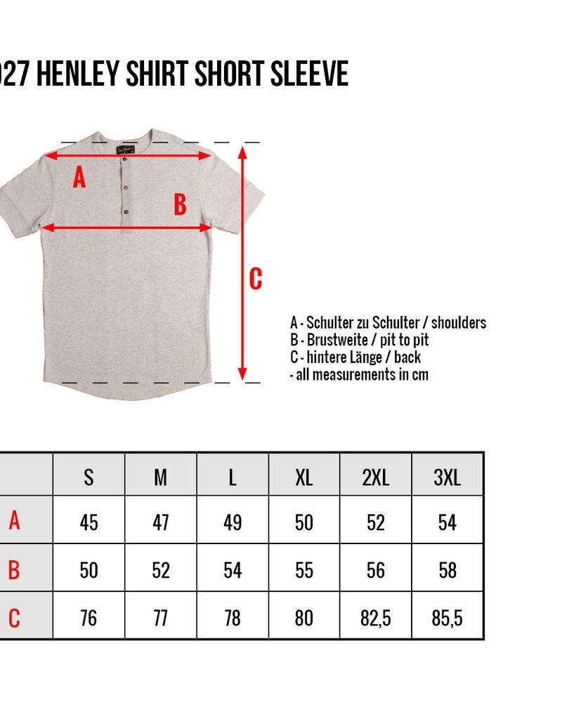 Pike Brothers Superior Garment 1927 Henley shirt short sleeve