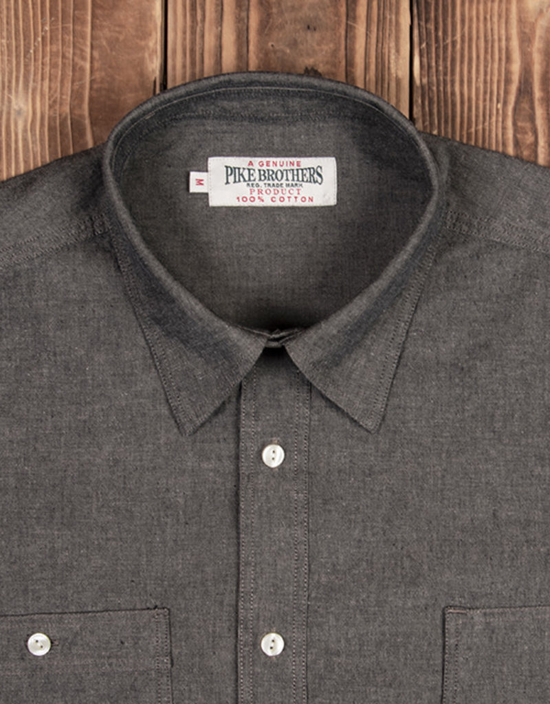 Pike Brothers Superior Garment 1937 Denim Roamer shirt long sleeve