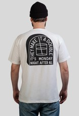 The Dudes Monday t-shirt off white
