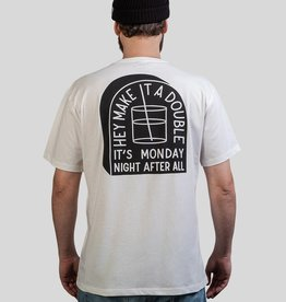 The Dudes Monday t-shirt off white