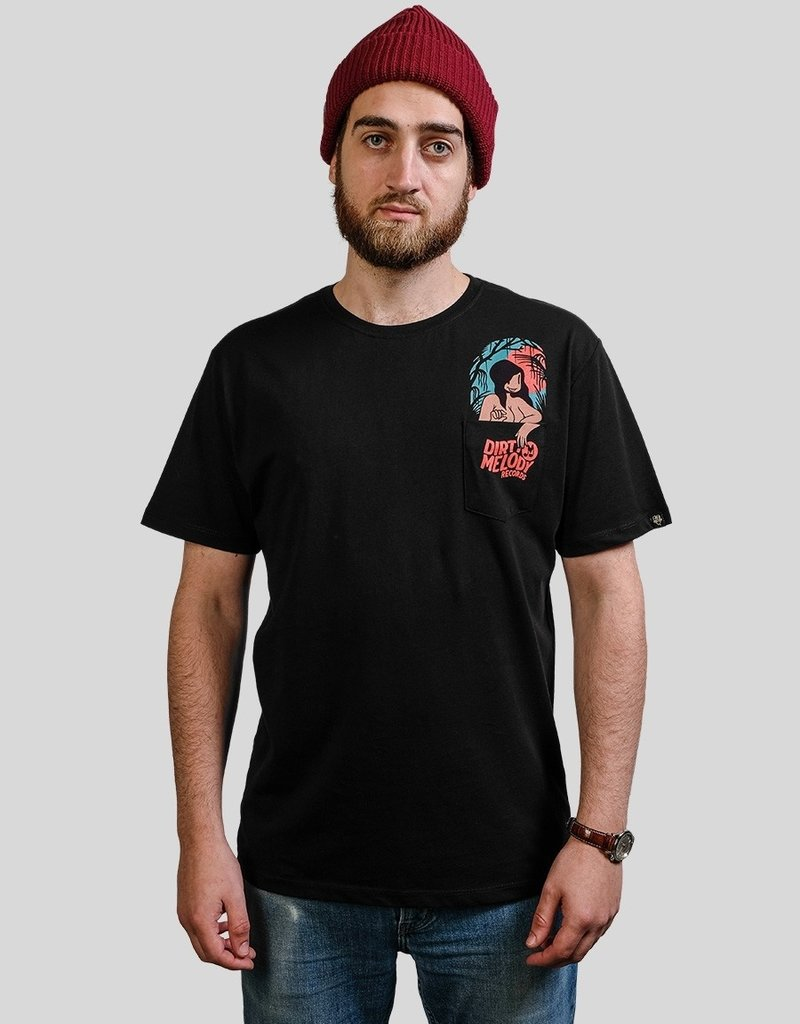 The Dudes Pocket Girl t-shirt