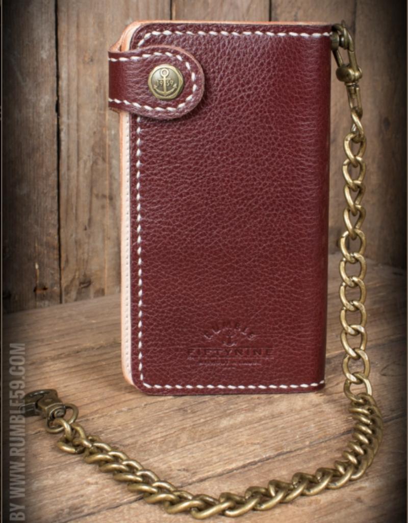 """Rumble59 Leder Wallet """"2-Tone"""" - Cash Only"""