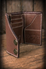 "Rumble59 Leder Wallet ""Tripartite"" - compact size"