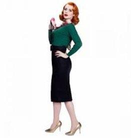 Passy light Skirt Black von 50S
