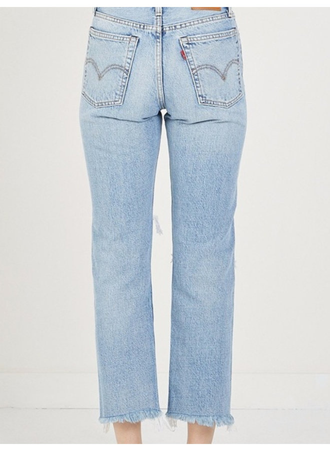 Jeans wedgie straight lost inside
