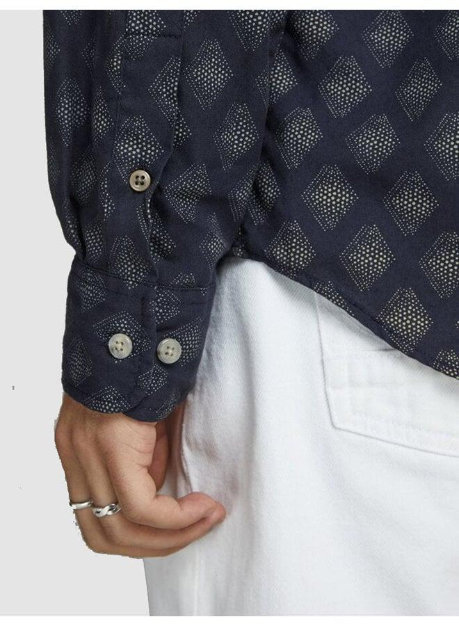 Shirt jprblukyle ls one pocket navy blazer slim fit