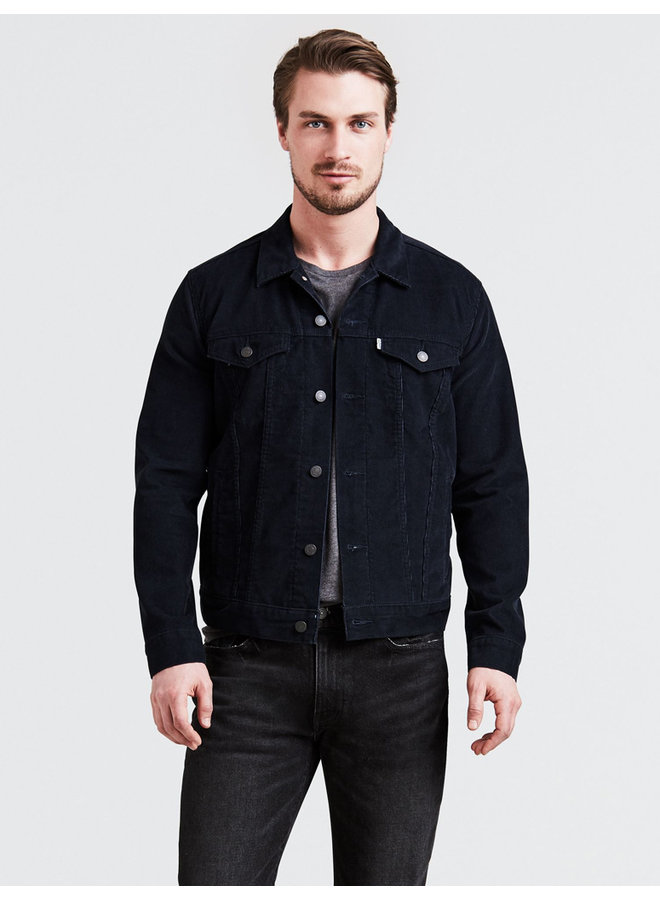 Jacket the trucker common blue cord