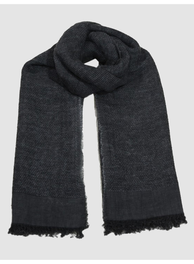 Scarf Dinah dark greys