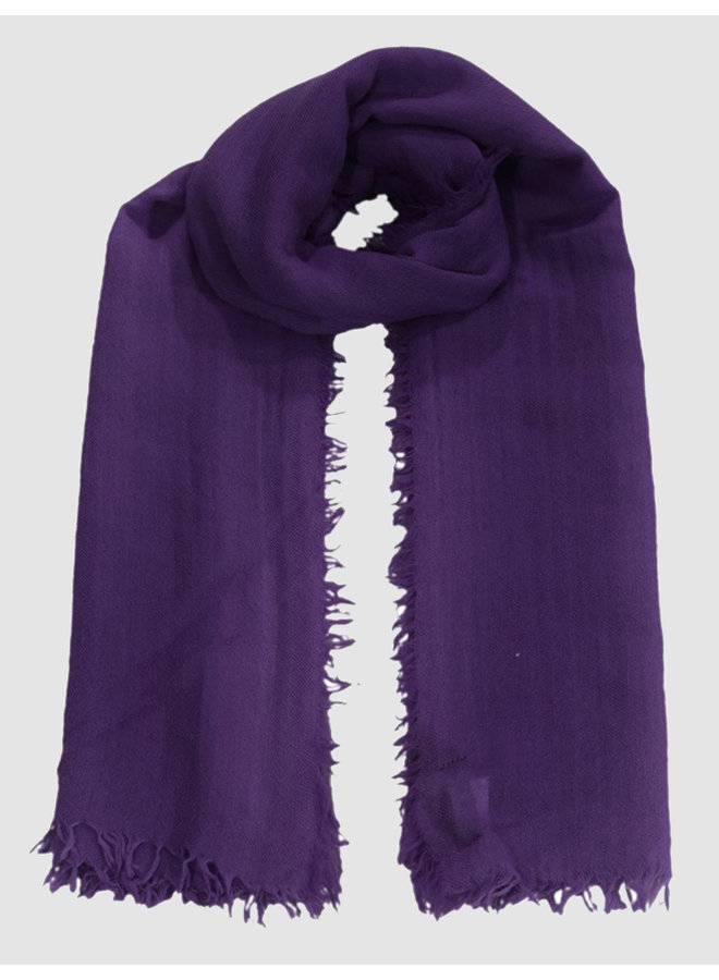 Scarf Dilek deep purples