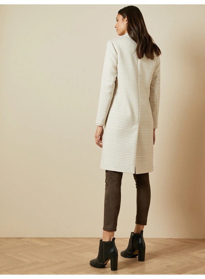 Double Breasted Collar Coat natural