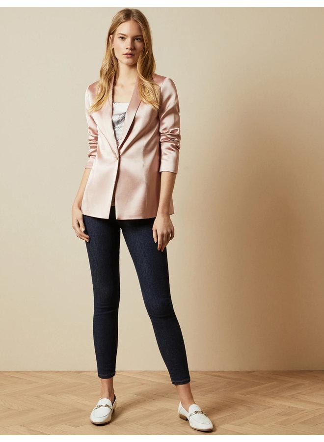 Tailored Blazer Jacket pl-pink