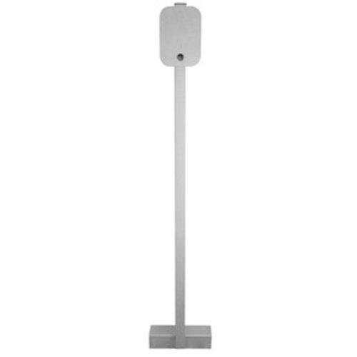 Universal  Montage Stele Edelstahl für Wallbox
