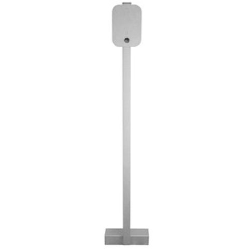 Universal stainless wallbox pole