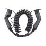 Besen Besen spiral Ladekabel | 7.4 kW | 1x32A | Typ 2 bis Typ 2 | 5 Meter