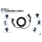 Besen Besen charging cable | 11 kW | 3x16A | type 2 to type 2 | 5 meter