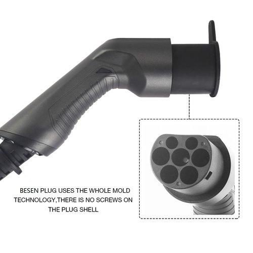 Besen Besen Ladekabel | 22 kW | 3x32A | Typ 2 bis Typ 2 | 5 Meter