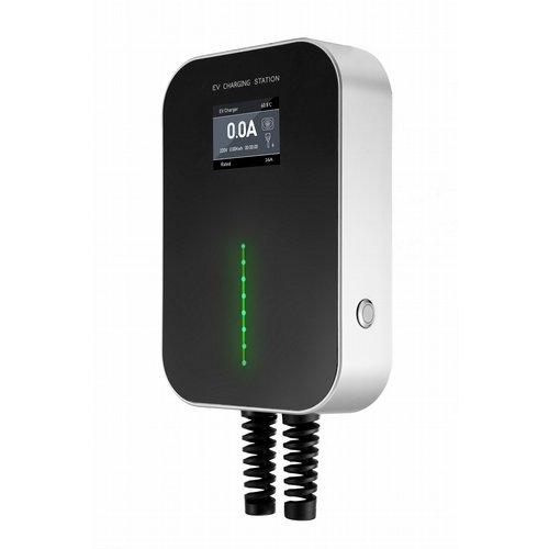 Besen Besen 22 kW | fase 3 - 32A | Typ 2 mit Steckdose | Wallbox