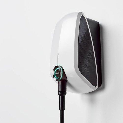 EVBox EVBox Elvi 11 kW | Instelbaar vermogen tussen 3.7 en 11 kW | 16A - 32A | type 2 - 6 meter | (RFID + WLAN+ UMTS + kWh meter)