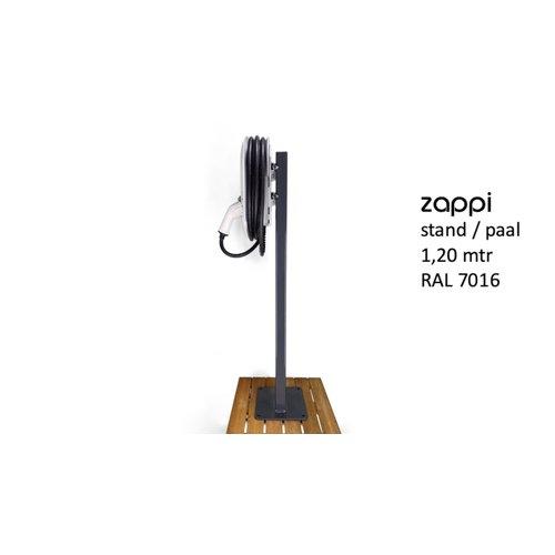 myenergi Monteringsstolpe for Zappi ladestasjon