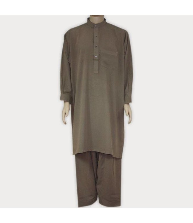 Salwar Kameez Men - Brown