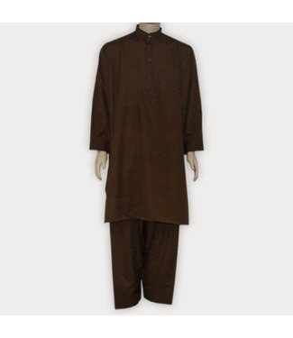 Salwar Kameez Men - Dark Brown