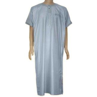 Arabischer Anzug Halbarm - Hellgrau
