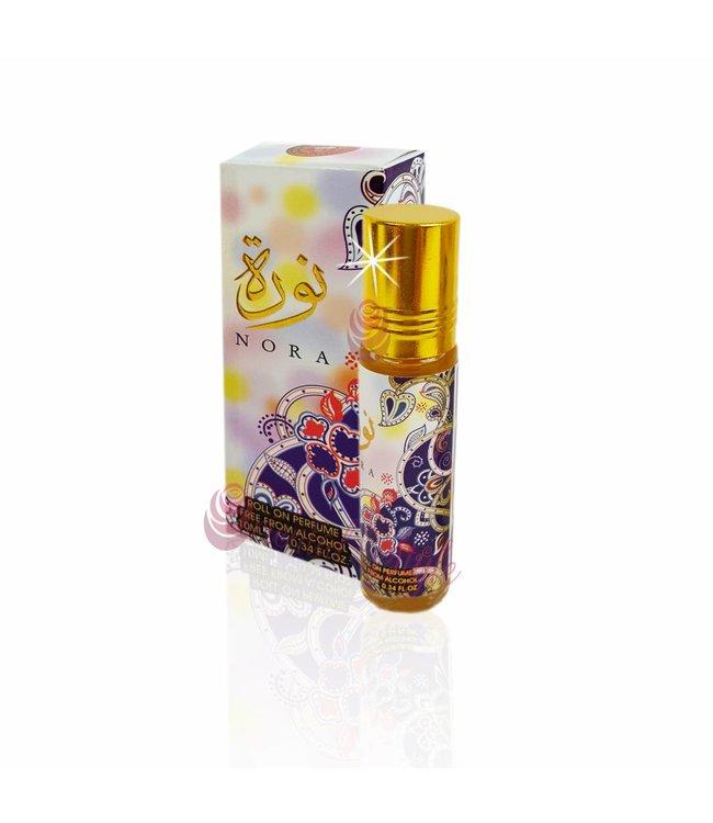 Ard Al Zaafaran Perfumes  Concentrated perfume oil Nora 10ml - Perfume free from alcohol
