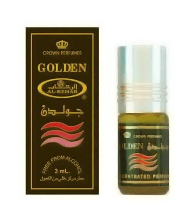 Al Rehab  Parfümöl Golden von Al Rehab - Parfüm ohne Alkohol