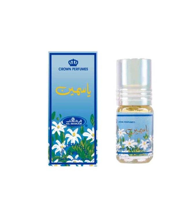 Al Rehab  Perfume oil Jasmine by Al Rehab - Alcohol-free perfume