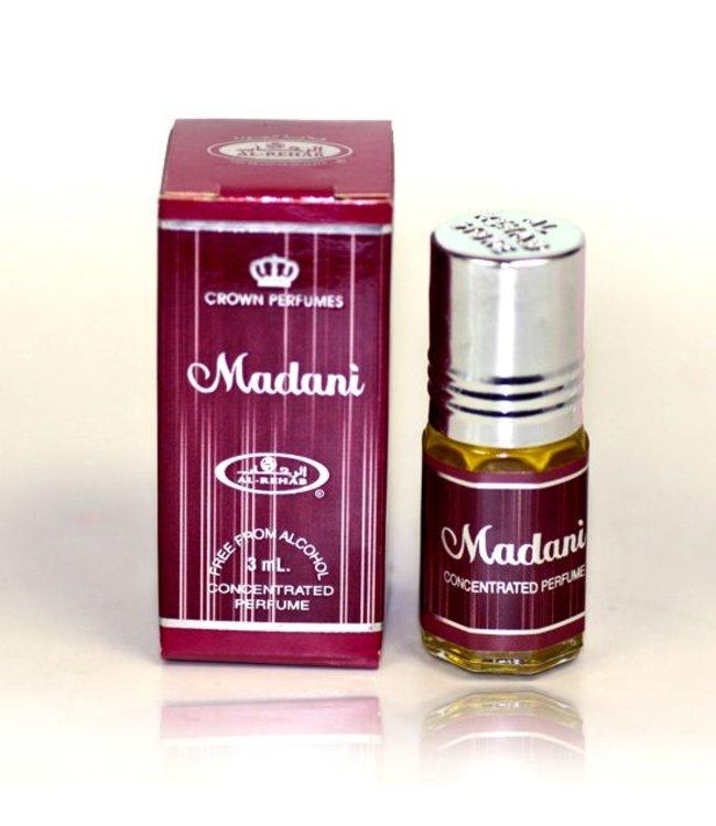 Al Rehab  Madani Al Rehab Concentrated perfume oil 3ml - Alcohol-Free perfume