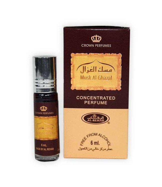 Al Rehab  Concentrated Perfume Oil Musk al Ghazal Al Rehab 6ml
