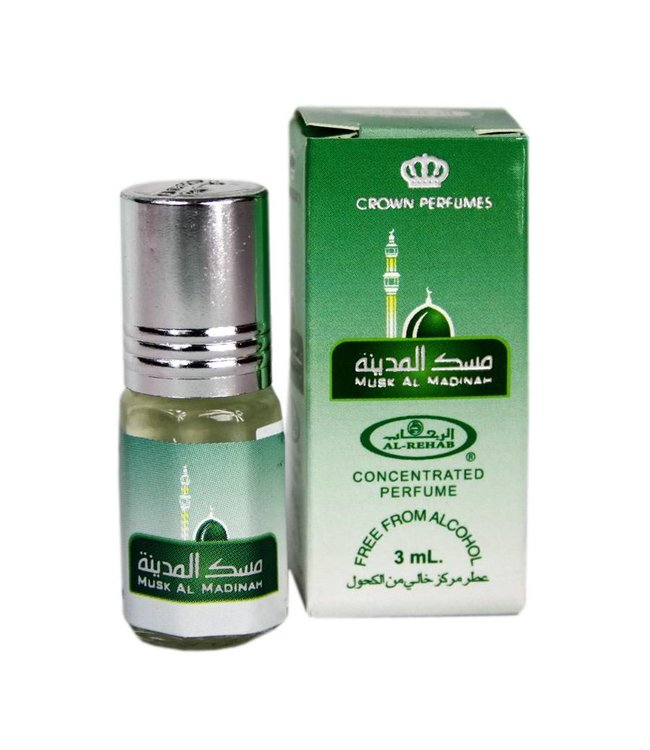 Al Rehab  Konzentriertes Parfümöl Musk al Madinah von Al Rehab