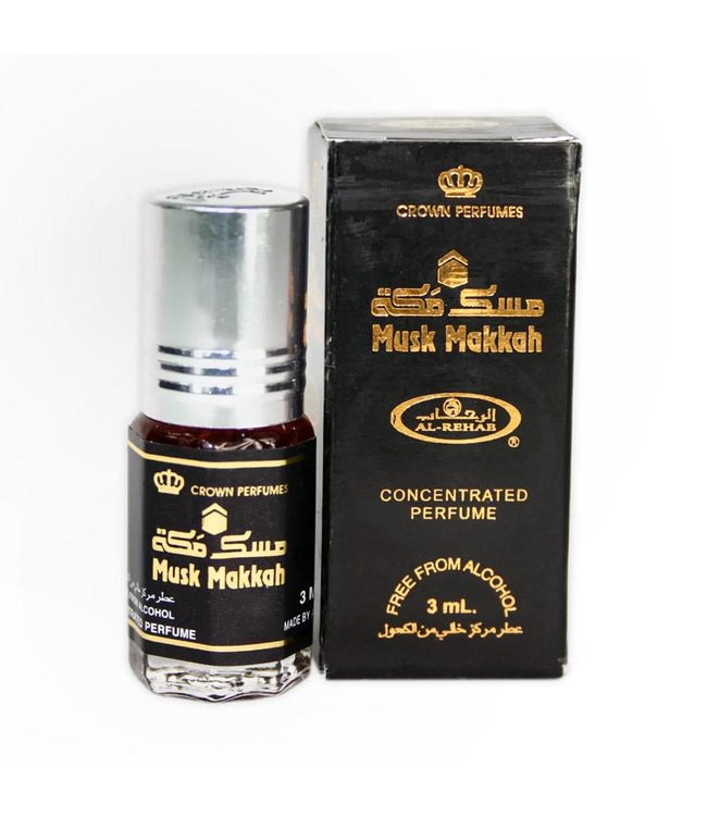 Al Rehab  Konzentriertes Parfümöl Musk Makkah von Al Rehab 6ml Parfüm ohne Alkohol