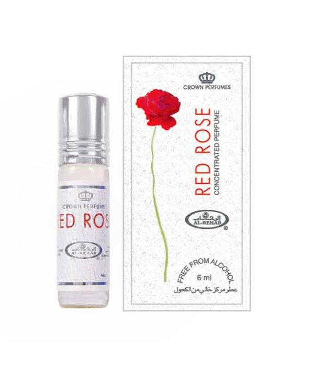 Al Rehab  Concentrated Perfume Oil Red Rose by Al Rehab