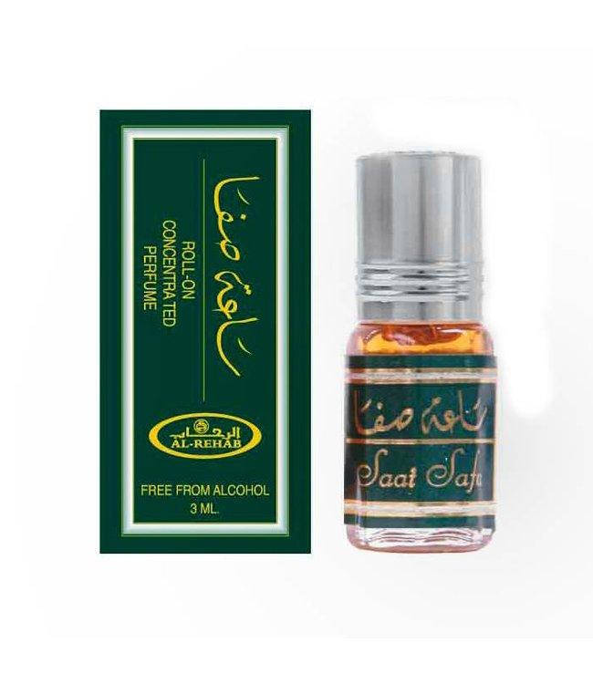 Al Rehab  Konzentriertes Parfümöl Saat Safa von Al Rehab Parfüm ohne Alkohol