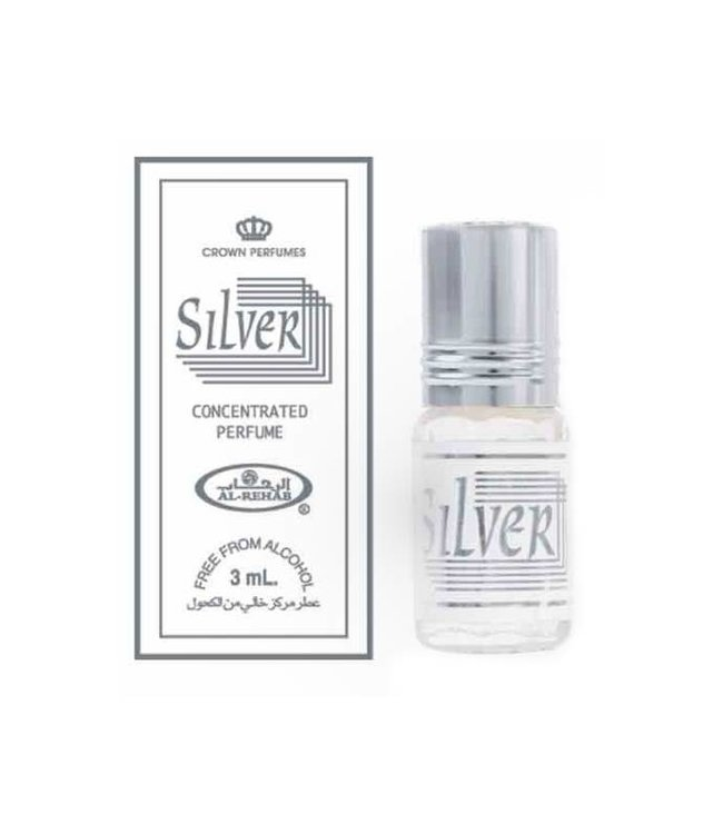 Al Rehab  Concentrated Perfume Oil by Al Rehab Silver