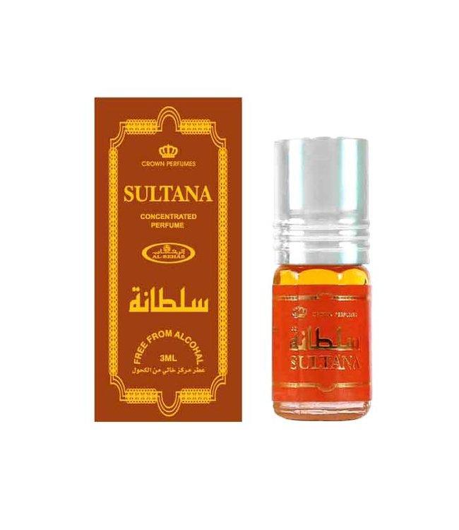 Al Rehab  Concentrated perfume oil Sultana by Al Rehab 3ml