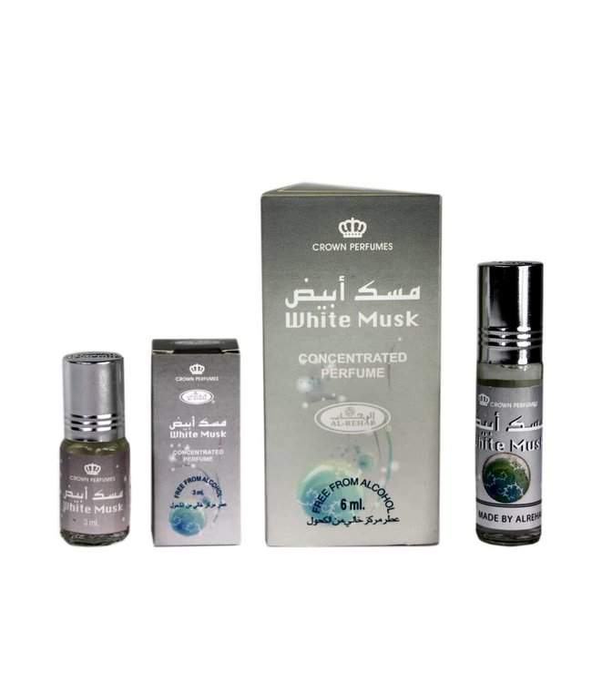 Al Rehab  Concentrated Perfume Oil White Musk by Al Rehab