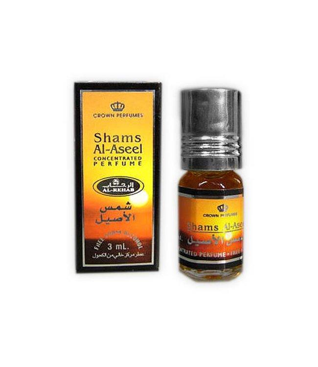 Al Rehab  Perfume oil Shams Al Aseel by Al Rehab 3ml