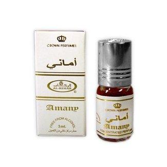 Al Rehab  Perfume oil Amany by Al Rehab 3ml