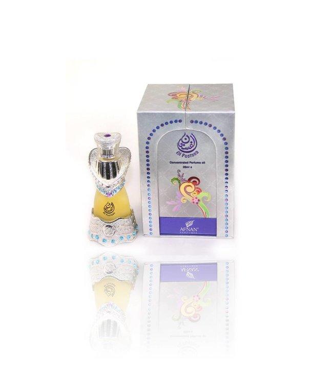 Afnan Konzentriertes Parfümöl Al Fustan Silber - Parfüm ohne Alkohol