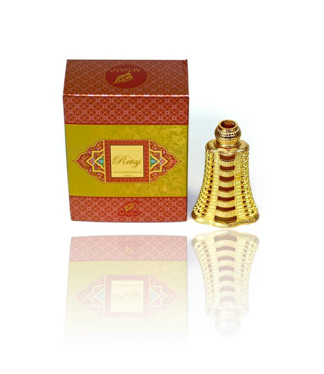 Afnan Concentrated Perfume Oil Retaj - Perfume free from alcohol